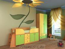 Детская кровать Бемби-5 Мини МДФ